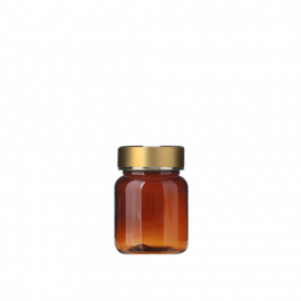 FR-035_PET_68ml 원형 갈투 제약용기160원+금장캡350원(후가공별도)