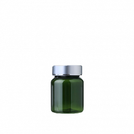 FR-035_PET_68ml 원형 녹투 제약용기160원+은장캡350원(후가공별도)