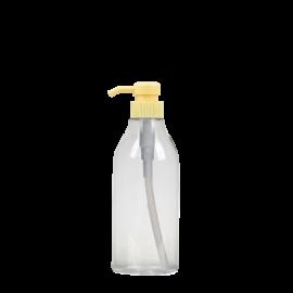 FR-015_500ml_PET원형용기+펌프 포함  (전화주문)